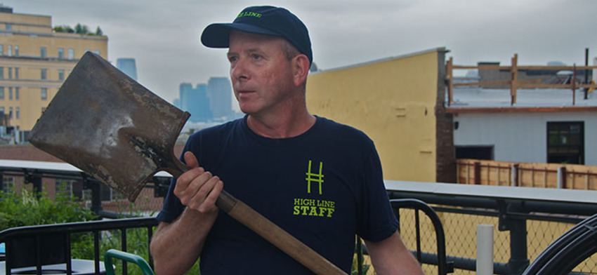 Staff spotlight a day with gardener john gunderson list image